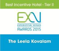 Meet India's Best Incentive Hotel - Tier II, The Leela Kovalam; ExV Awards 2015