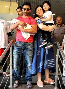 PIX: Sachiin Joshi-Raina have a baby boy
