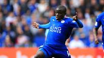 13:13Leicester City's N'Golo Kante insists he is 'happy' with Premier League champions