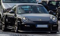 Bomb squad blows up Paris driver's badly-parked Porsche