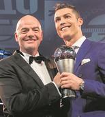 SAME OLD, SAME OLD AT FIFA AWARDS CEREMONY!