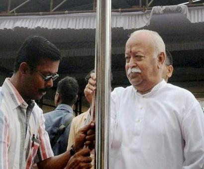 Kerala collector who barred Mohan Bhagwat from hoisting tricolour transferred