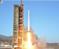 North Korean rocket launch puts two objects in orbit