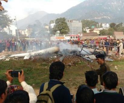 Woman pilot, 6 pilgrims killed in helicopter crash in Katra