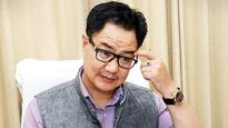 Kiren Rijiju's chopper makes emergency landing