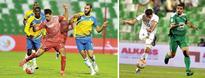 Second-half brilliance sees Lekhwiya hammer Al... Lekhwiya's Youssef Msakni and Yasin Chikhaoui (right) of Al Gharafa vi...