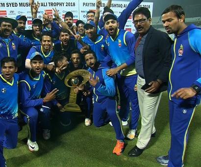 Sports Shorts: Delhi lifts Syed Mushtaq Ali Trophy in style