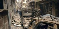 Russia furiously denied the US claim that Moscow's air strikes had destroyed two hospitals in the Syrian city of Aleppo.