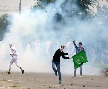 Clashes erupt in Srinagar on Eid, police use tear gas on protesters