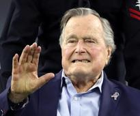 Former U.S. President George H.W. Bush extends hospital stay