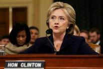 Clinton deflects Republican criticism in marathon Benghazi listening to