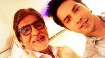 Amitabh Bachchan, Varun Dhawan to work together in a Munnabhai-style film?