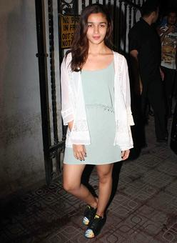 PIX: Alia, Shah Rukh party with Karan Johar