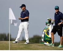 Brazilian who learned golf with...