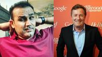 'Embarrassing England can't win the WC': Virender Sehwag just showed Piers Morgan who's the boss