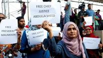 False and groundless: China Embassy in New Delhi rejects ex-Maldives President's 'land grab' allegations