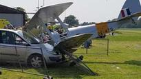 Woman hurt after Tiger Moth crash at Brimpton Airfield