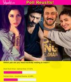 Fans more EXCITED about Shah Rukh Khan romancing Mahira Khan than Salman Khan wooing Anushka Sharma!