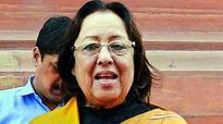 Najma Heptulla made Governor of Manipur