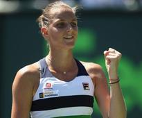 Miami Open: Karolina Pliskova, Caroline Wozniacki book semi-final showdown