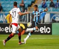 Gremio gain edge in Copa do Brasil final