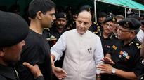 Rajnath's Kashmir visit: HM welcomes those believing in 'Kashmiriyat-Insaniyat-Jamhooriyat'