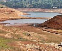 Water level in Banasura Sagar reservoir falls