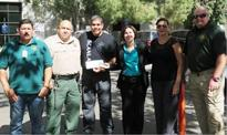 Valley State Prison staff donate to injured Fresno County officers
