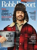 Jimmy Kimmel Graces Cover Of Robb Report Magazine's February Issue