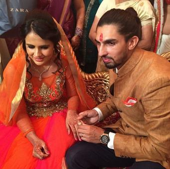 India pacer Ishant Sharma gets engaged