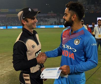 India look to wrap up T20 series, NZ fight for survival