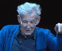 WATCH: Sir Ian McKellen Chokes Up Reading Coming Out Letter