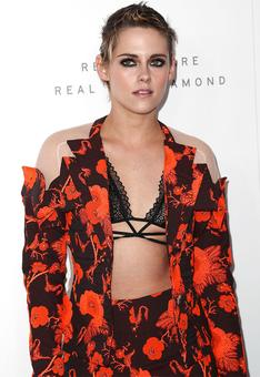 Bold and beautiful! Kristen Stewart wore the pantsuit of our dreams