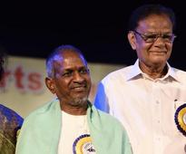 Isaignani Ilayaraja attended Karthik fine arts and Namargam dance show at Narada Gana Sabha in Chennai