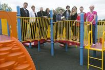 Playground for special needs people opened