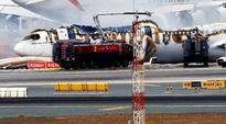 Emirates Plane Crash-Lands At Dubai Airport