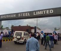 Locals lock main gate of Bhushan steel plant in Odisha