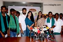 Prasanna and Sneha take a laudable step to support farmers