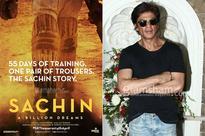 SRK proves his FANtastic love for Sachin Tendulkar, eager to watch the legend's biopic