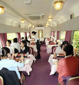 Hokutosei dining car turned into restaurant