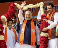 Guj polls a fight between caste politics and PM's development agenda: Shah
