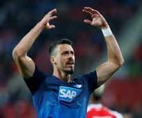 Bundesliga: Bayern Munich eying Sandro Wagner as back-up for star marksman Robert Lewandowski