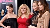 Dakota Johnson, Rebel Wilson Salute Their Solo Milestones at 'How to Be Single' Premiere