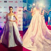 Alia Bhatt, winner of Filmfare Awards 2017 Best Actress Award for Udta Punjab shows us why simple is understated and yet so elegant!