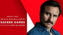 Saif Ali Khan quashes reports of being part of Kabir Khan's web series at the launch of Netflix's 'Sacred Games'