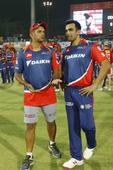 DD coach Dravid, Zaheer spend time inspecting Eden pitch