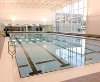 Olympic legacy leisure centre...
