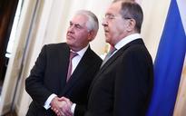 Rex Tillerson meets Russian counterpart Sergei Lavrov in New York