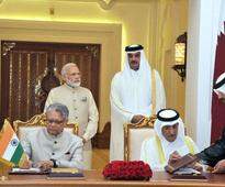 India, Qatar signs seven agreements to boost bilateral ties