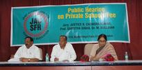 Public Hearing on Private School Fee